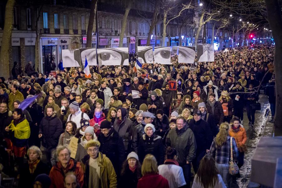 Marche pour la liberté - Dimanche 11 janvier 2015