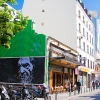 Grafs, pochoirs et affiches sur les murs de Paris