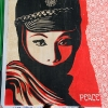 Le MUR - Shepard Fairey et WK Interact - Rue Oberkampf 11Entre le 19 mai et le 02 juin 2007