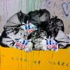 Cans Festival à Londres...Festival de pochoirs sous la gare de Waterloo tout le long de Leake Street... Un bonheur.
