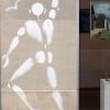 Mesnager et son bonhomme blanc sur les murs de Paris