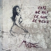 MissTic dans les rues de Paris