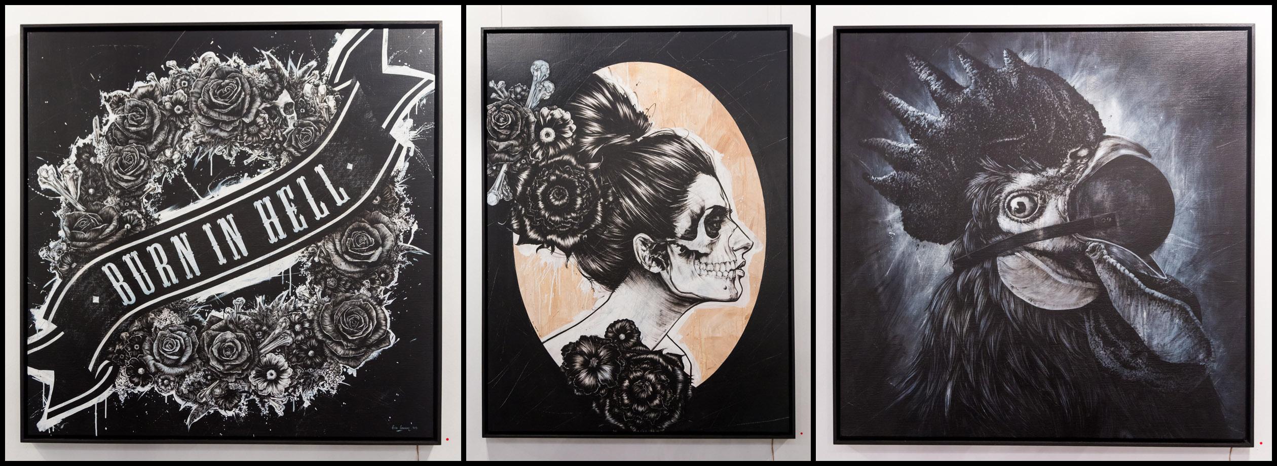 Eric Lacan à a galerie Openspace - Octobre 2014